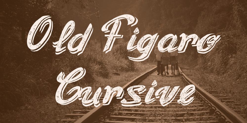 Old Figaro Cursive