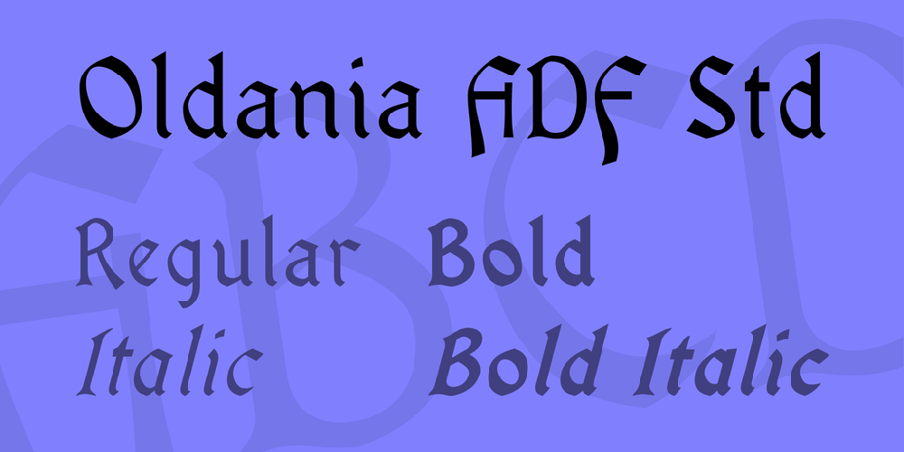 Oldania ADF Std