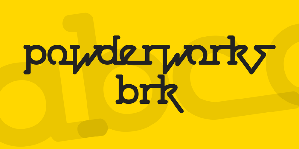 Powderworks BRK