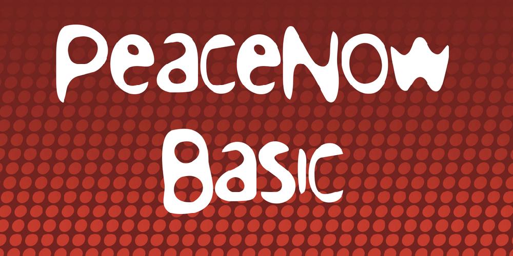 PeaceNow Basic