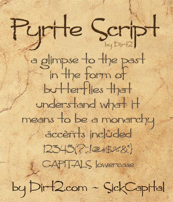 Pyrite Scrypt