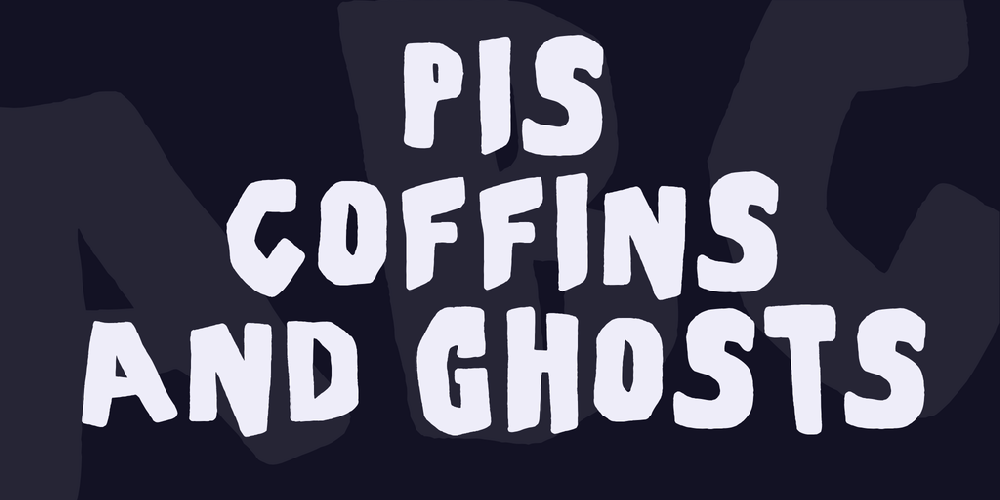 PiS Coffins and Ghosts