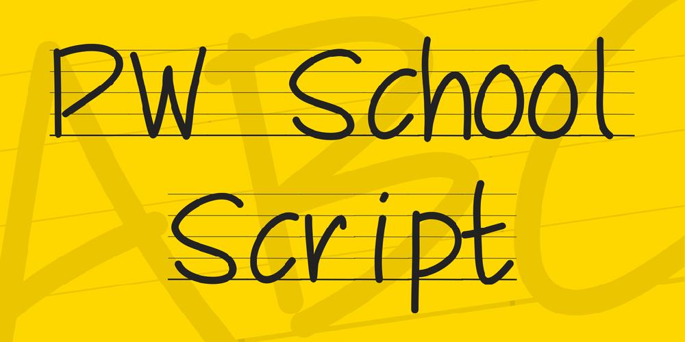 PW School Script