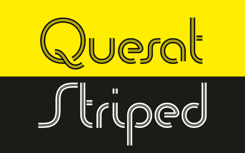 Quesat Striped Demo