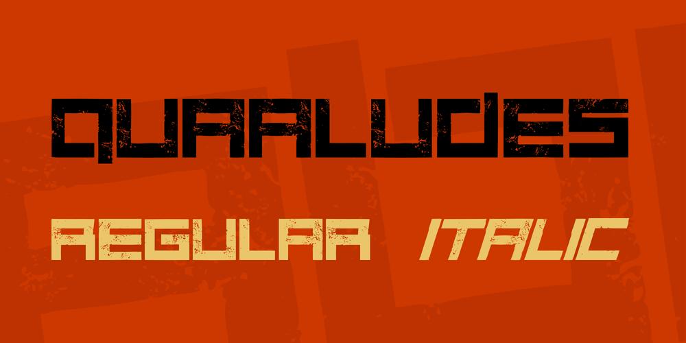Quaaludes