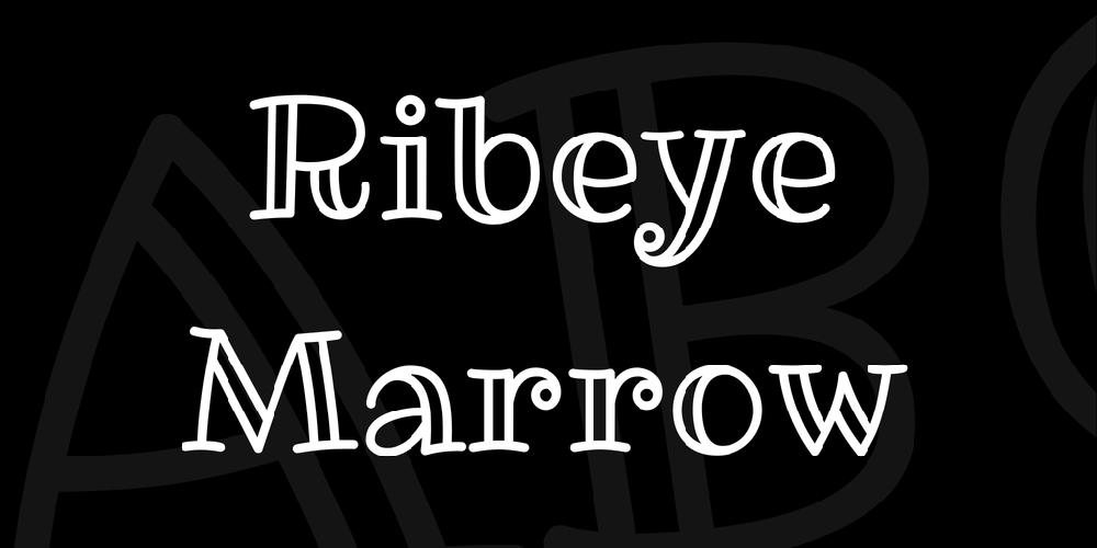 Ribeye Marrow