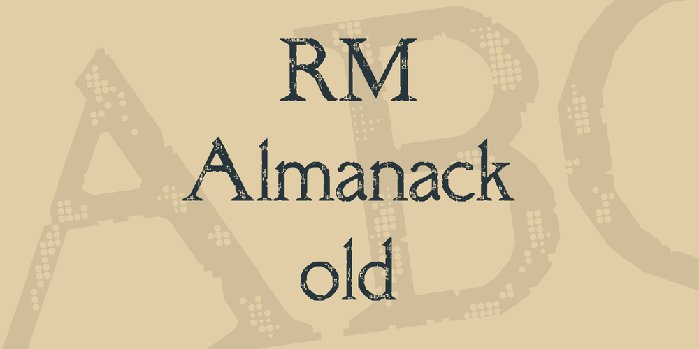 RM Almanack old