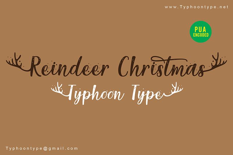 Reindeer Christmas - Personal Use