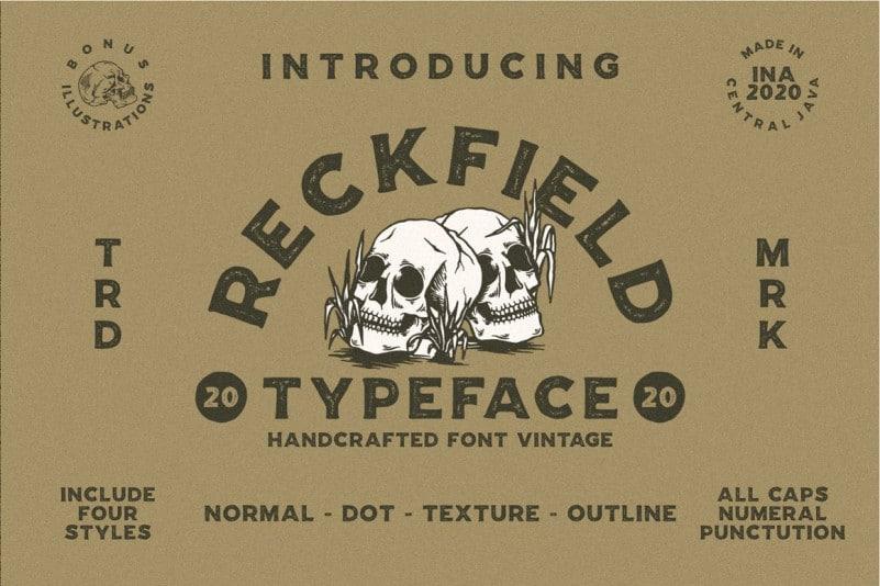 RECKFIELD-TEXTURE