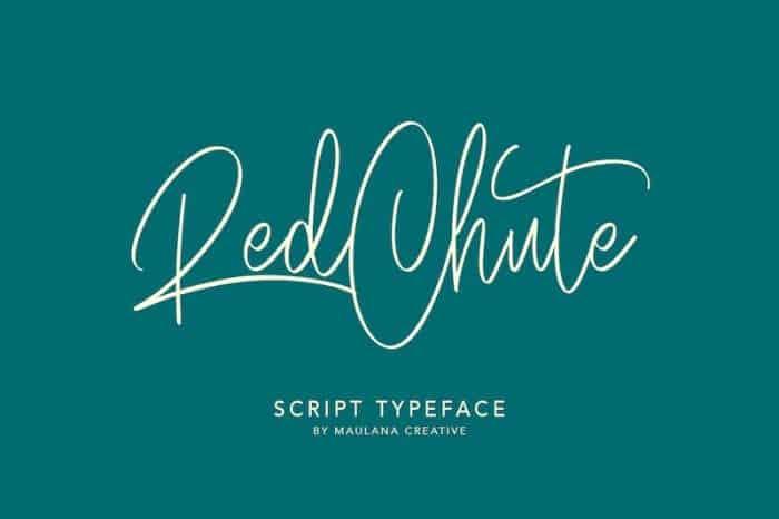 Red Chute Free Font