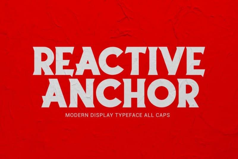 Reactive Anchor