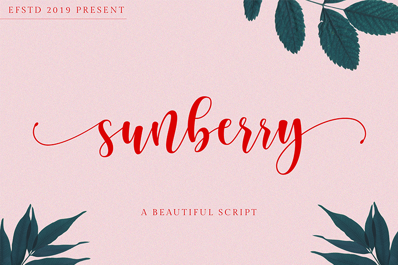 Sunberry calligraphy