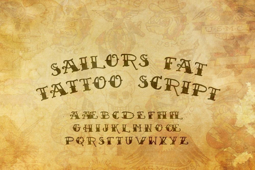Sailor's Fat Tattoo Script Demo