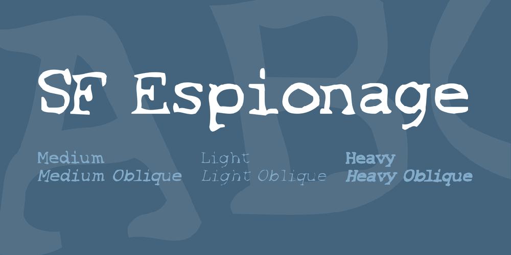 SF Espionage