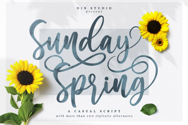 Sunday Spring Personal Use