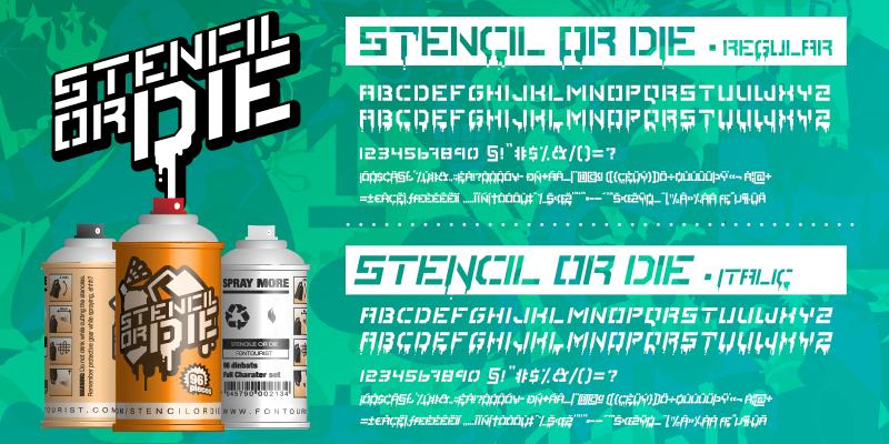 Stencile Or Die