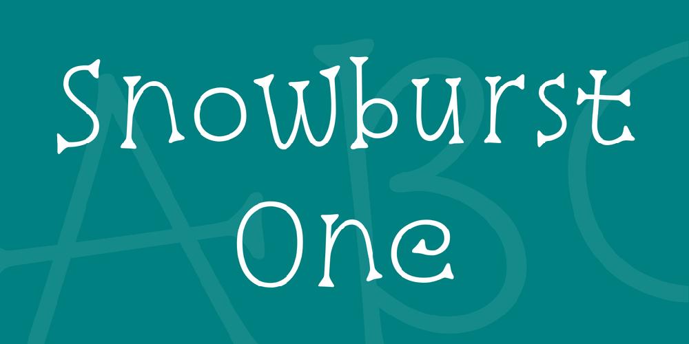 Snowburst One