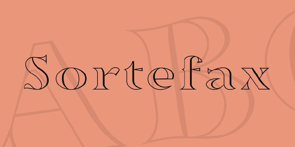 Sortefax