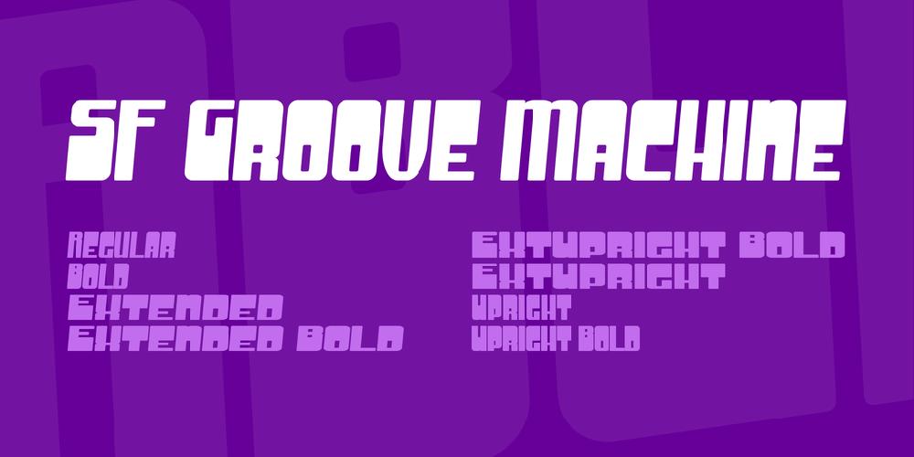 SF Groove Machine