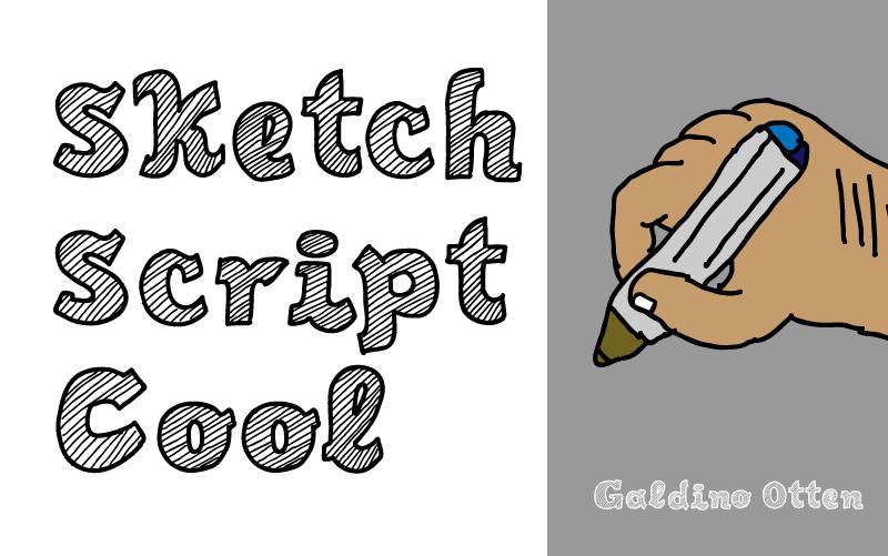 Sketch Script Cool