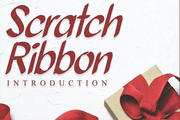 Scratch Ribbon