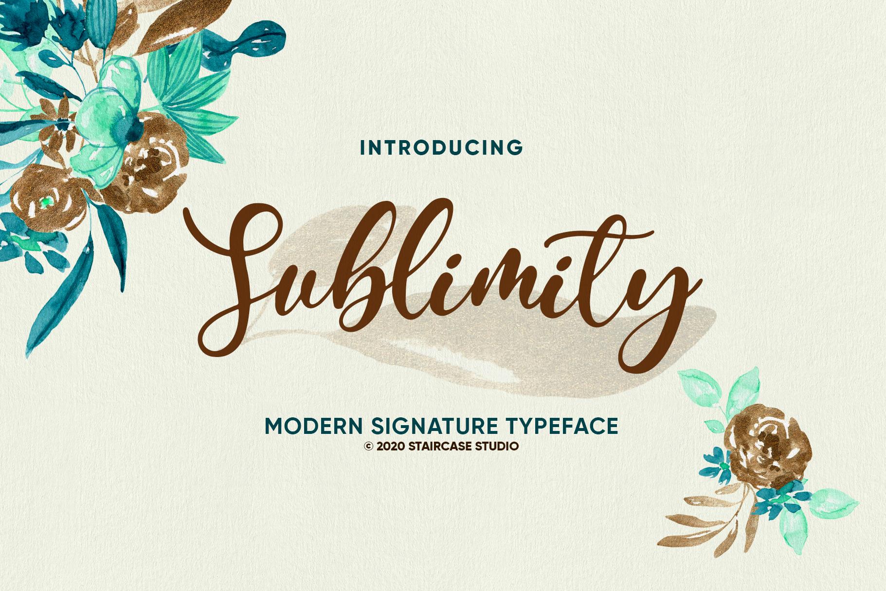 Sublimity Italic