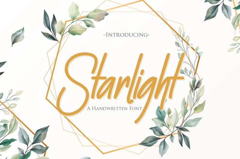Starlight handwritten