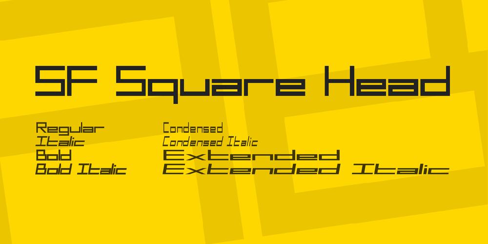 SF Square Head