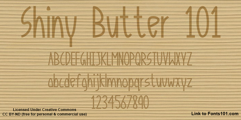 Shiny Butter 101