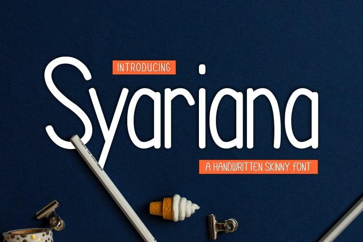 Syariana