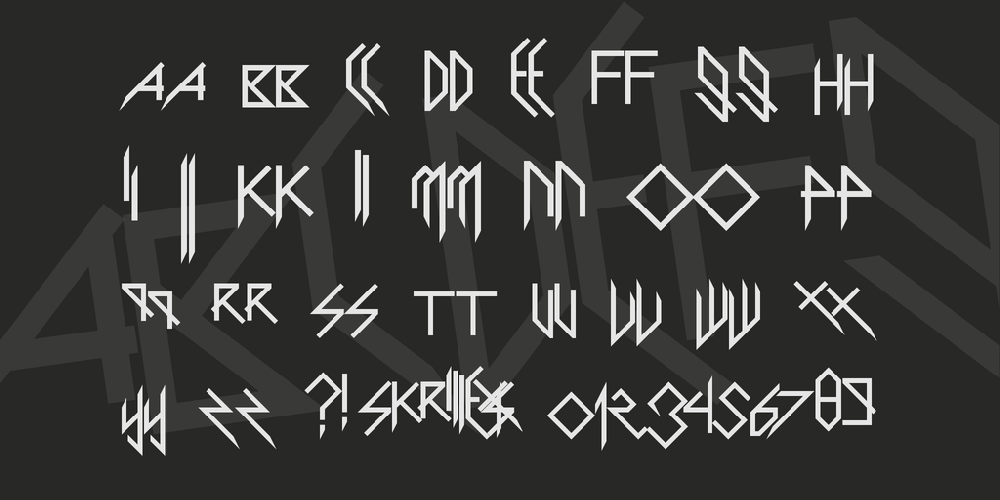 Scary Glyphs and Nice Characters