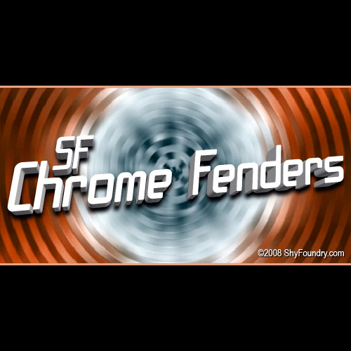 SF Chrome Fenders