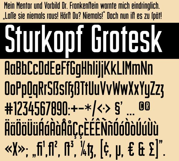 Sturkopf Grotesk