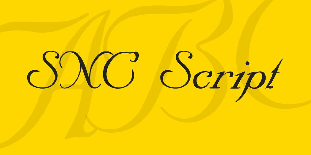 SNC Script