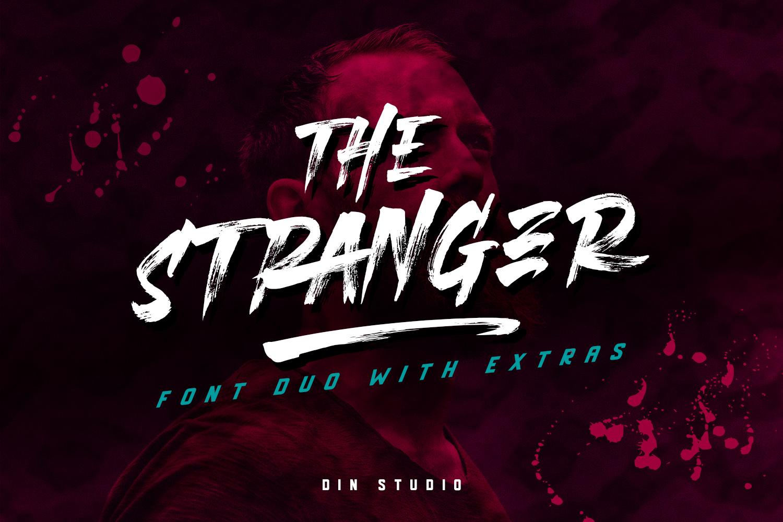 THE STRANGER FONT DUO