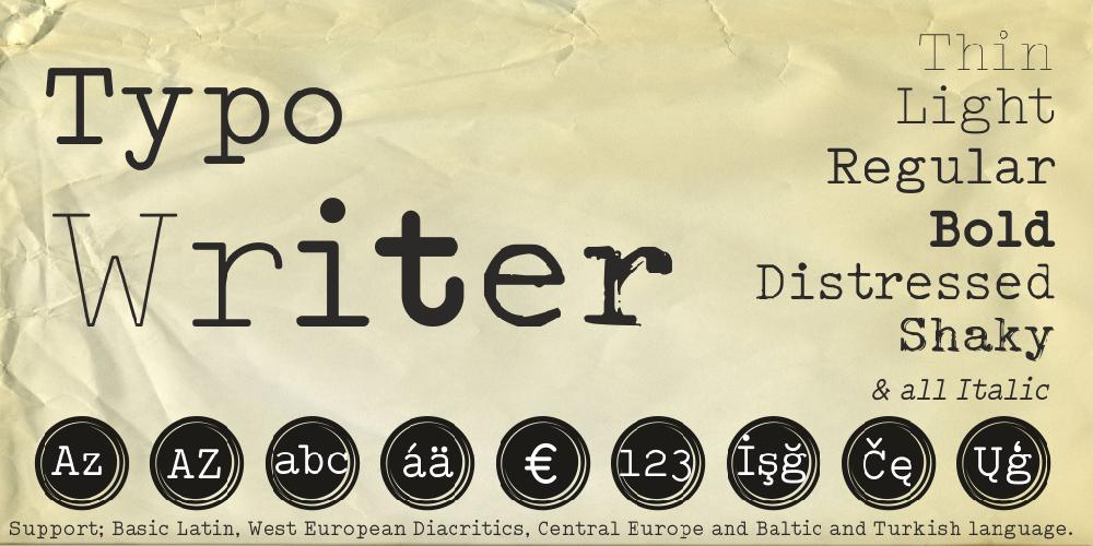 Typo Writer