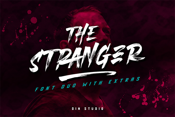 THE STRANGER FONT DUO