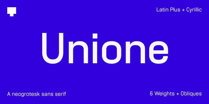 Unione *Demo