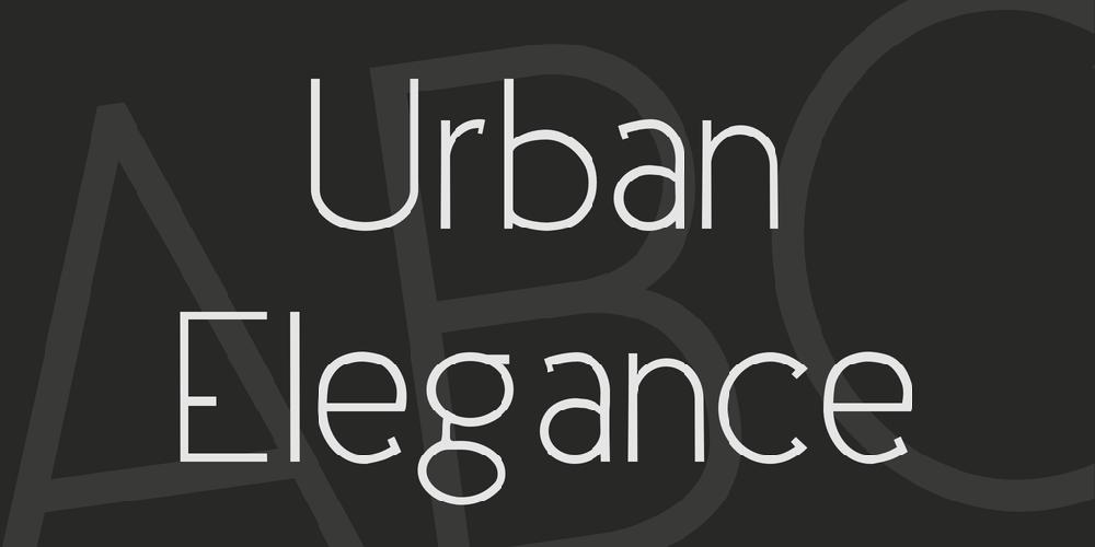 Urban Elegance