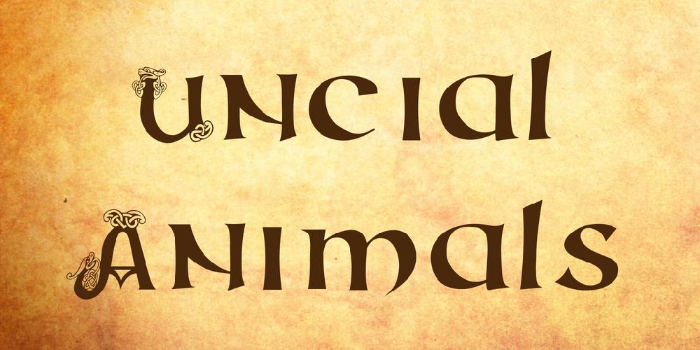 Uncial Animals