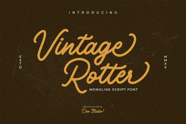 Vintage Rotter Personal Use