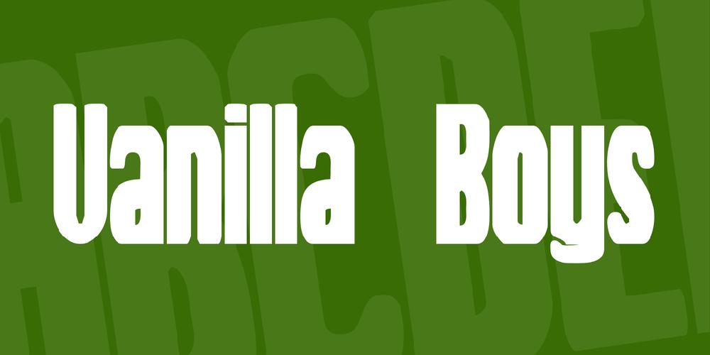 Vanilla Boys
