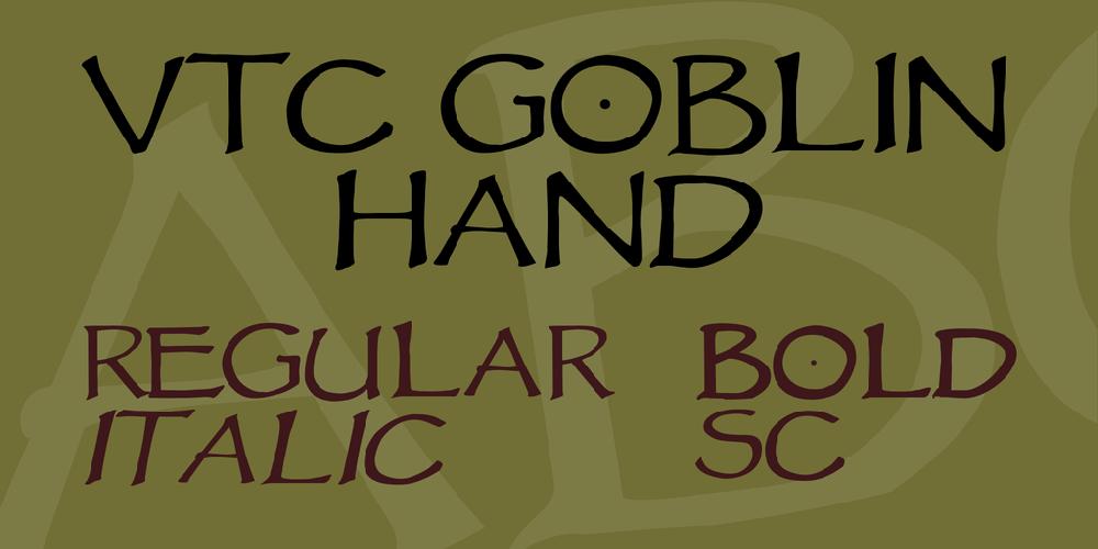 VTC Goblin Hand