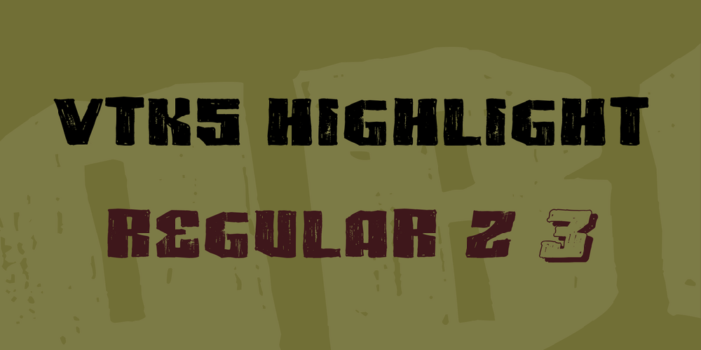 VTKS HIGHLIGHT