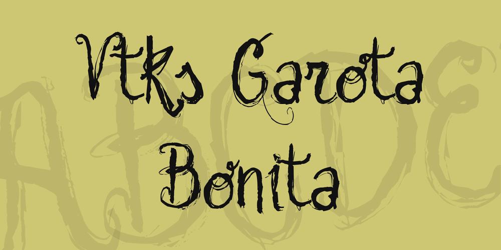 Vtks Garota Bonita