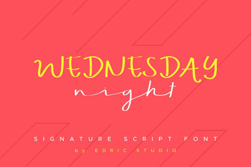 WEDNESDAY Nightdemo