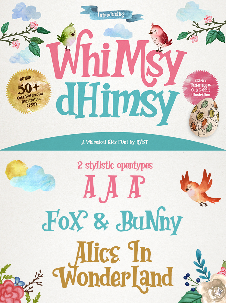 Whimsy Dhimsy Demo Fancy