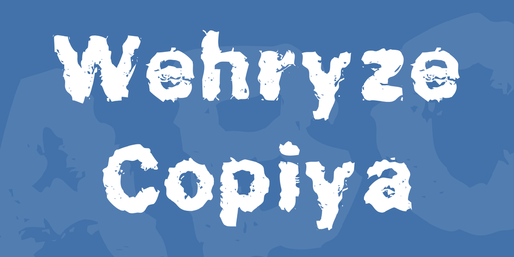 Wehryze Copiya