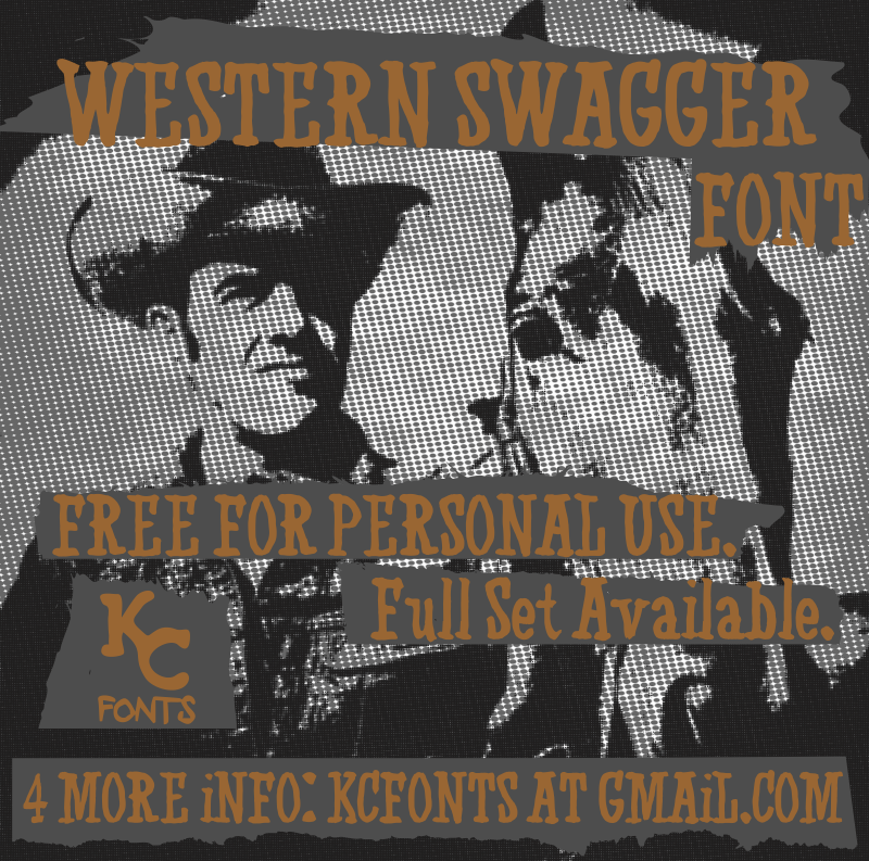 Western Swagger font download free | Dafonttop com