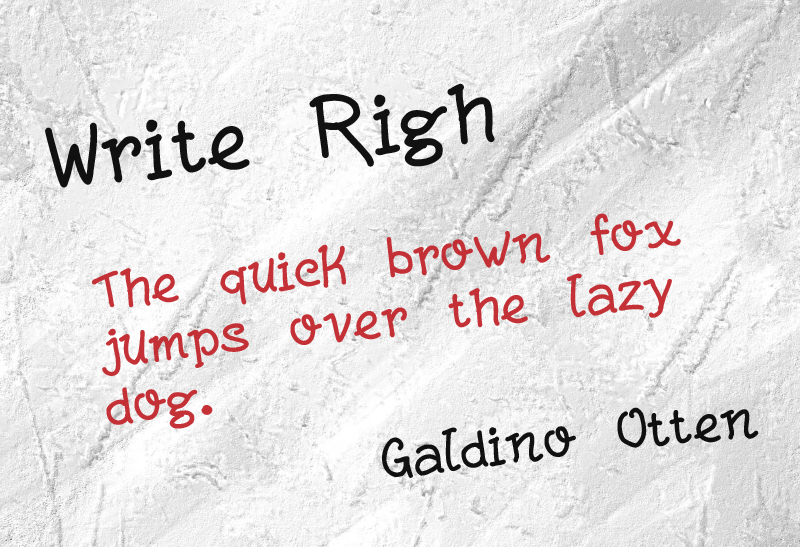 Write Righ